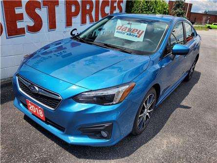 2018 Subaru Impreza Touring (Stk: 20-277) in Oshawa - Image 1 of 19