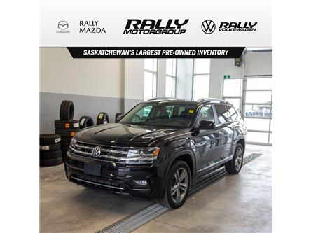 2019 Volkswagen Atlas 3.6 FSI Highline (Stk: V1230) in Prince Albert - Image 1 of 18