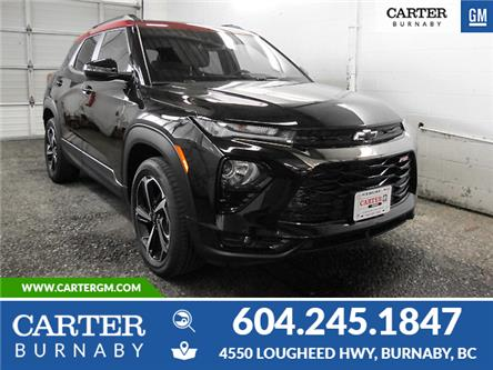 2021 Chevrolet TrailBlazer RS (Stk: X1-0546T) in Burnaby - Image 1 of 13