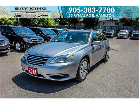 2014 Chrysler 200 LX (Stk: 207570B) in Hamilton - Image 1 of 18