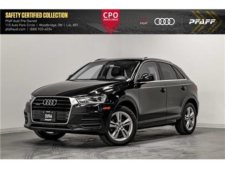 2016 Audi Q3 2.0T Progressiv (Stk: C7533) in Vaughan - Image 1 of 22