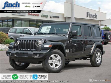 2020 Jeep Wrangler Unlimited Sport (Stk: 97937) in London - Image 1 of 24