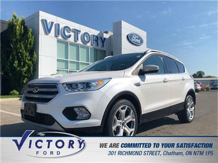 2017 Ford Escape Titanium (Stk: V19182A) in Chatham - Image 1 of 23
