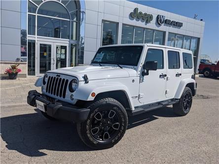 2018 Jeep Wrangler JK Unlimited Sahara (Stk: 03041-OC) in Orangeville - Image 1 of 18