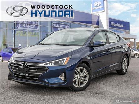 2019 Hyundai Elantra Preferred (Stk: EA19020) in Woodstock - Image 1 of 27