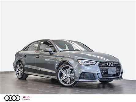 2019 Audi A3 45 Technik (Stk: 52966) in Ottawa - Image 1 of 21