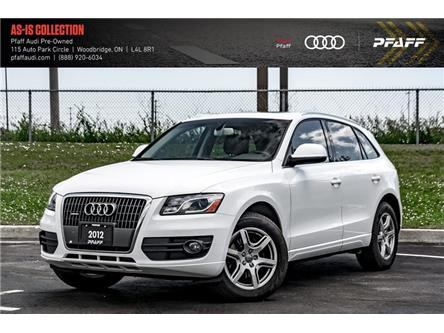 2012 Audi Q5 2.0T Premium (Stk: T17976A) in Woodbridge - Image 1 of 21