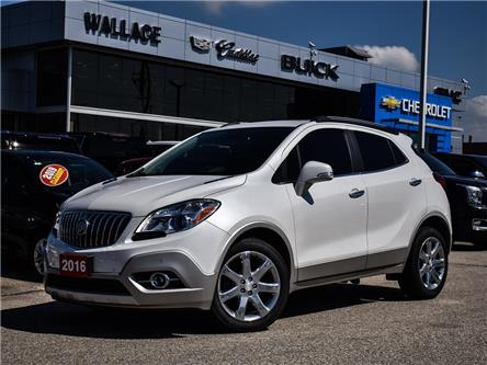 2016 Buick Encore Premium FWD, ROOF, LEATHER, CHROME WHEELS, HTD STE (Stk: PL5315) in Milton - Image 1 of 28