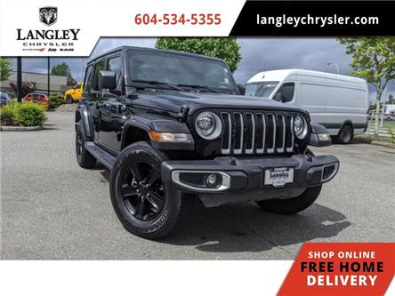 2020 Jeep Wrangler Unlimited Sahara (Stk: LC0376) in Surrey - Image 1 of 23