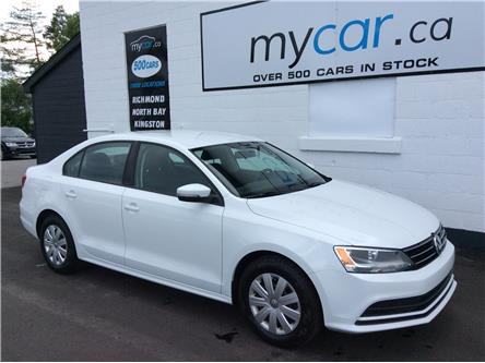 2015 Volkswagen Jetta 2.0L Trendline+ (Stk: 200556) in North Bay - Image 1 of 20