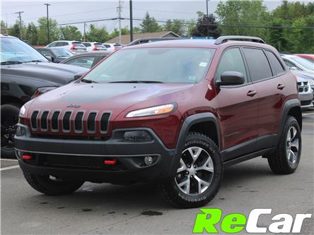 2018 Jeep Cherokee Trailhawk (Stk: 200720A) in Saint John - Image 1 of 9