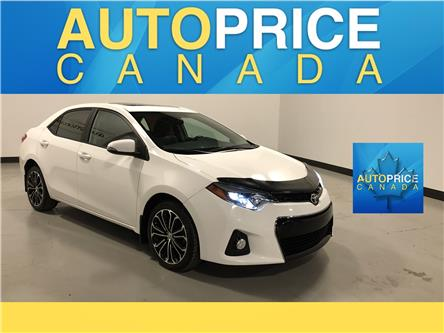 2016 Toyota Corolla S (Stk: W0964) in Mississauga - Image 1 of 24
