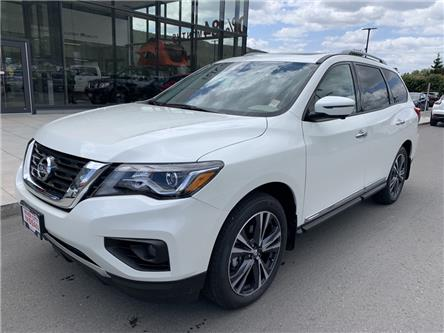 2020 Nissan Pathfinder Platinum (Stk: T20186) in Kamloops - Image 1 of 33