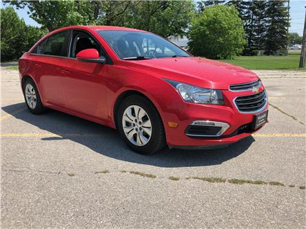 2016 Chevrolet Cruze Limited 1LT (Stk: ) in Winnipeg - Image 1 of 20
