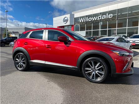 2017 Mazda CX-3 GT (Stk: C35524) in Thornhill - Image 1 of 9