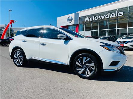2017 Nissan Murano Platinum (Stk: N667A) in Thornhill - Image 1 of 14