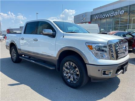 2018 Nissan Titan Platinum (Stk: H9342A) in Thornhill - Image 1 of 14
