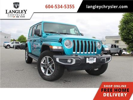 2019 Jeep Wrangler Unlimited Sahara (Stk: LC0382) in Surrey - Image 1 of 23