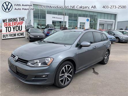 2016 Volkswagen Golf Sportwagon 1.8 TSI Comfortline (Stk: 3574) in Calgary - Image 1 of 23