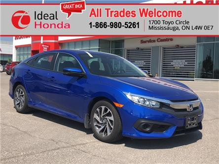 2017 Honda Civic EX (Stk: I200516A) in Mississauga - Image 1 of 18