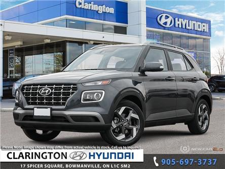 2020 Hyundai Venue Ultimate w/Black Interior (IVT) (Stk: 20374) in Clarington - Image 1 of 24