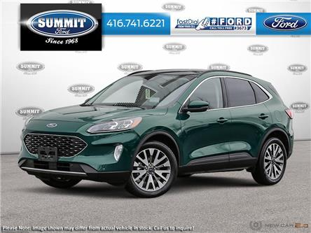 2020 Ford Escape Titanium Hybrid (Stk: 20J7761) in Toronto - Image 1 of 22