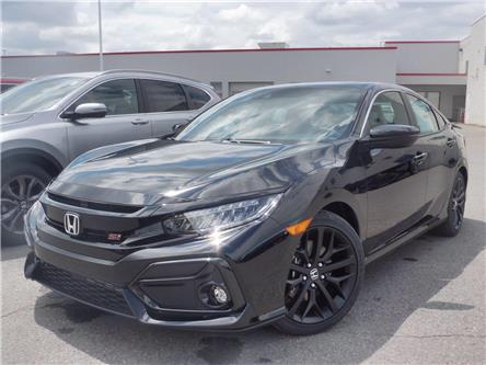 2020 Honda Civic Si Base (Stk: 20-0476) in Ottawa - Image 1 of 28