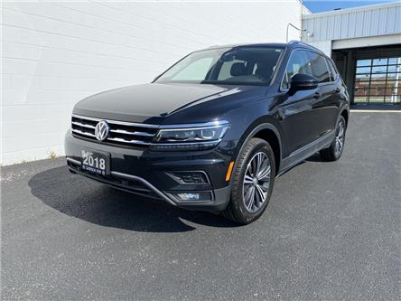 2018 Volkswagen Tiguan Highline (Stk: VU1018) in Sarnia - Image 1 of 23