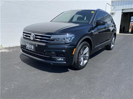 2019 Volkswagen Tiguan Highline (Stk: VU1042) in Sarnia - Image 1 of 27