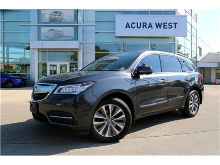 2016 Acura MDX Navigation Package (Stk: 20260A) in London - Image 1 of 20