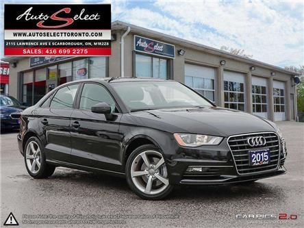 2015 Audi A3 1.8T Komfort (Stk: 1Q1CF21) in Scarborough - Image 1 of 26