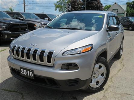 2016 Jeep Cherokee Sport (Stk: 95201) in St. Thomas - Image 1 of 17
