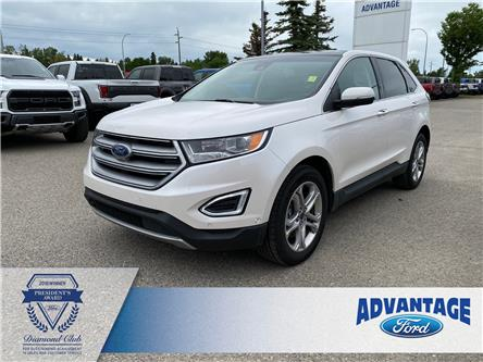 2018 Ford Edge Titanium (Stk: L-361A) in Calgary - Image 1 of 27