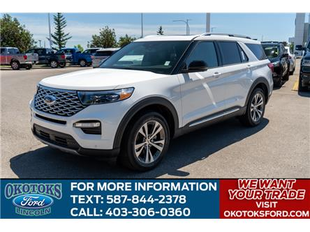 2020 Ford Explorer Platinum (Stk: LK-85) in Okotoks - Image 1 of 7