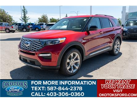 2020 Ford Explorer Platinum (Stk: LK-86) in Okotoks - Image 1 of 7
