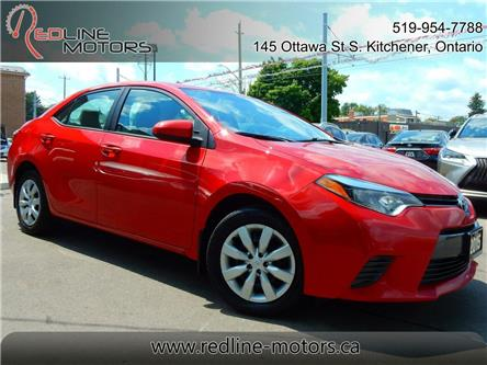 2015 Toyota Corolla LE (Stk: 2T1BUR) in Kitchener - Image 1 of 22