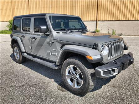2020 Jeep Wrangler Unlimited Sahara (Stk: 2633) in Windsor - Image 1 of 13