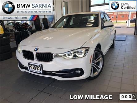 2018 BMW 3 Series 330i xDrive Sedan (Stk: BU732) in Sarnia - Image 1 of 17