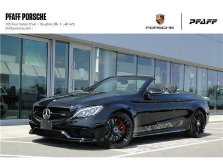 2017 Mercedes-Benz C63 S AMG Cabriolet (Stk: P15384A) in Vaughan - Image 1 of 22