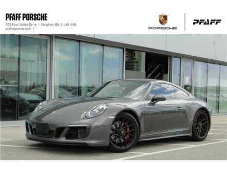 2017 Porsche 911 Carrera 4 GTS Coupe (Stk: U8769) in Vaughan - Image 1 of 22