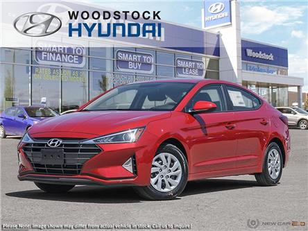 2020 Hyundai Elantra ESSENTIAL (Stk: EA20059) in Woodstock - Image 1 of 23