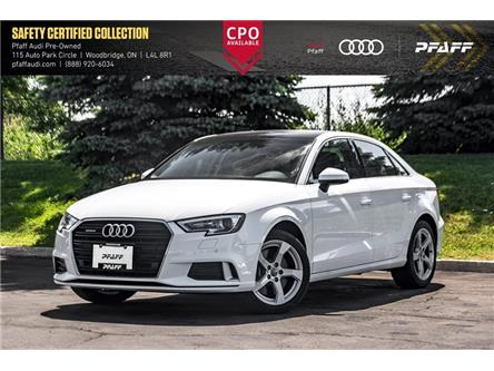 2019 Audi A3 45 Komfort (Stk: C7641) in Woodbridge - Image 1 of 22