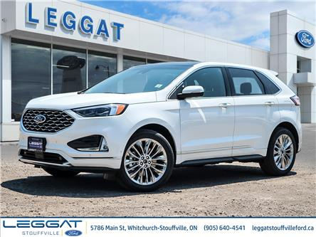 2020 Ford Edge Titanium (Stk: 20-32-146) in Stouffville - Image 1 of 22