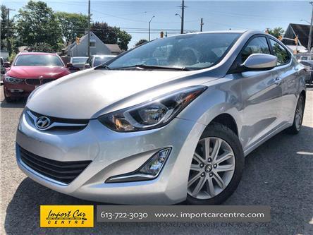 2016 Hyundai Elantra Sport Appearance (Stk: 620930) in Ottawa - Image 1 of 24