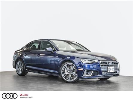 2019 Audi A4 45 Technik (Stk: 92060) in Nepean - Image 1 of 21