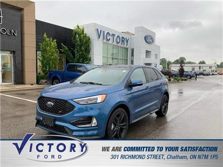 2019 Ford Edge ST (Stk: V10405CAP) in Chatham - Image 1 of 25
