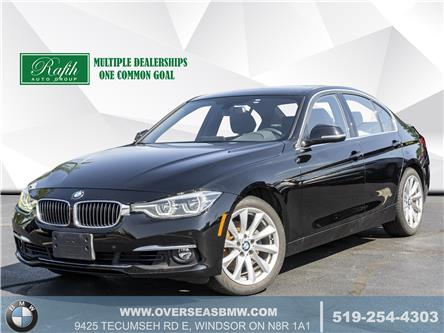 2017 BMW 330i xDrive (Stk: P8286) in Windsor - Image 1 of 19