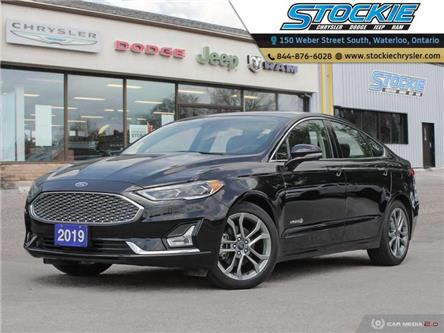 2019 Ford Fusion Hybrid Titanium (Stk: 34248) in Waterloo - Image 1 of 27