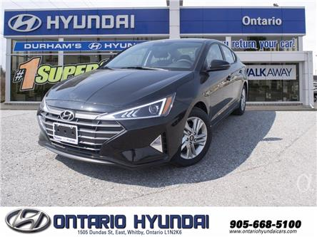 2020 Hyundai Elantra Preferred w/Sun & Safety Package (Stk: 074283) in Whitby - Image 1 of 17