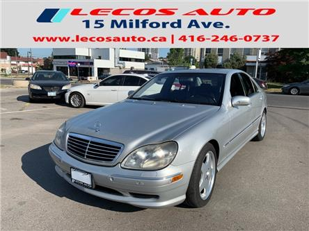 2002 Mercedes-Benz S-Class Base SWB (Stk: 251542) in Toronto - Image 1 of 10
